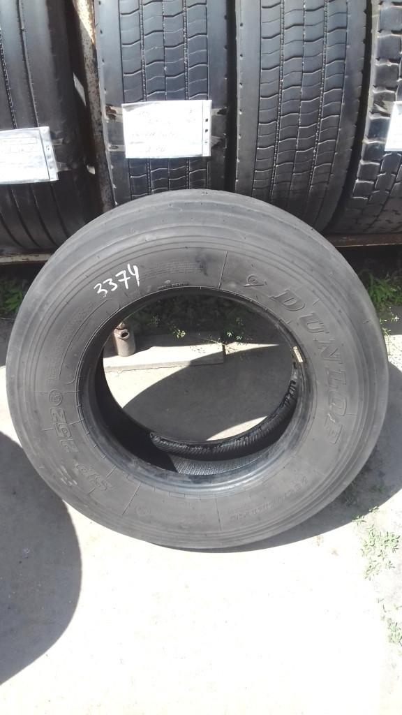 Шины б.у. 235.75.r17.5 Dunlop SP252 Данлоп. Резина бу для грузовиков и автобусов