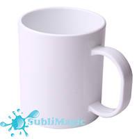 Чашка сублимационная PREMIUM полимерная (пластиковая)