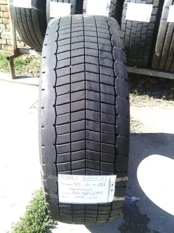 Грузовые шины б.у. / резина бу 305.70.r19.5 Continental Conti Hybrid HP3