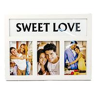 Мультирамка Sweet love белая