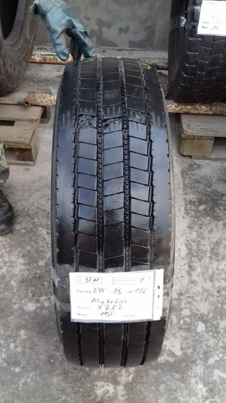 Шины б.у. 235.75.r17.5 Michelin XZE2 Мишлен. Резина бу для грузовиков и автобусов