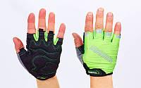 Вело-перчатки текстильные MADBIKE