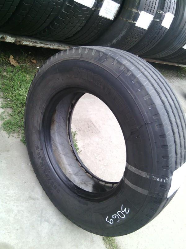Шины б.у. 265.70.r19.5 Michelin XZE2 Мишлен. Резина бу для грузовиков и автобусов