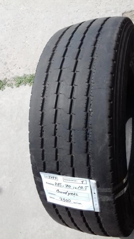Шины б.у. 285.70.r19.5 Goodyear Regional RHS2 Гудиер. Резина бу для грузовиков и автобусов