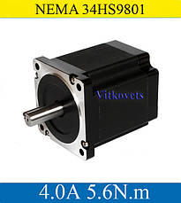 Шаговый двигатель 5.6N.m 34HS9801 4.А NEMA34, фото 2
