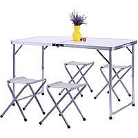 Комплект Барбекю (стол+4 табурета) CTA1003