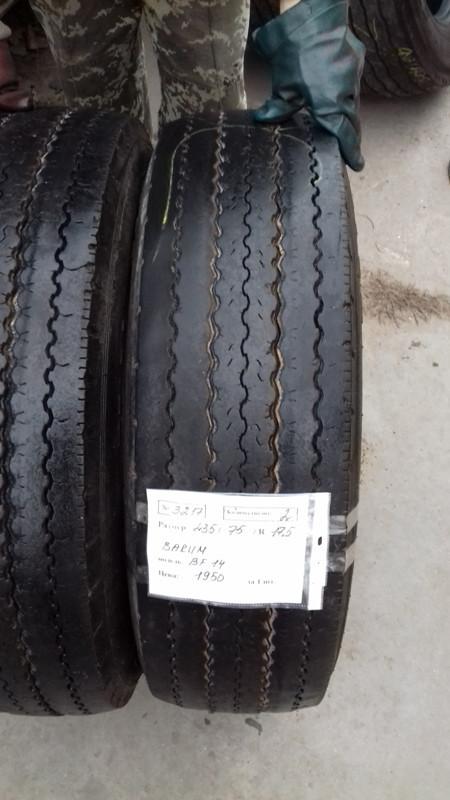 Грузовые шины б.у. / резина бу 235.75.r17.5Barum BF14 Барум