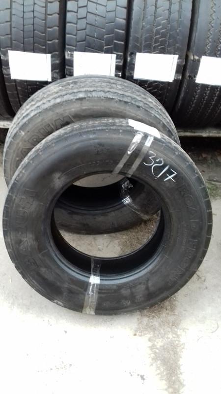 Шины б.у. 235.75.r17.5Barum BF14 Барум. Резина бу для грузовиков и автобусов