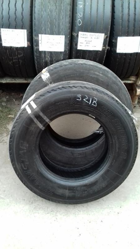 Шины б.у. 235.75.r17.5Teamstar TH Steer Тимстар. Резина бу для грузовиков и автобусов