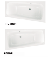 SPLIT панель фронтальная для асимметричной ванны 170 см, левая, KOLO PWA1671000