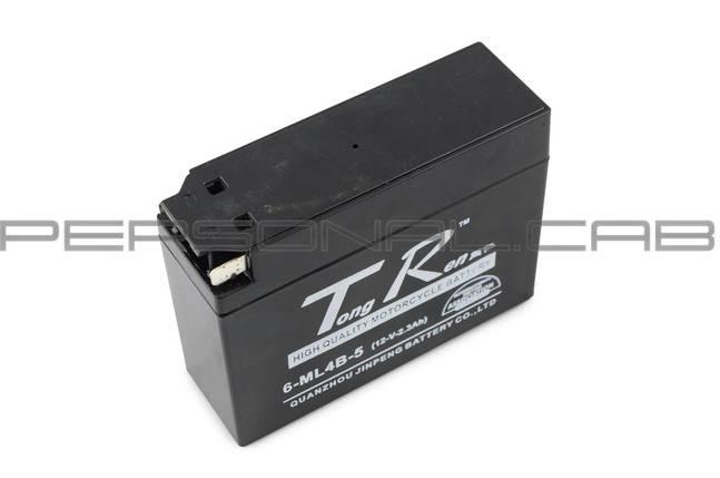 """Аккумулятор 12V 2,3А пастовый, Suzuki (""""таблетка"""", черный), фото 2"""