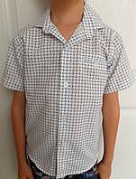Дитяча сорочка з коротким рукавом для хлопчика (2-5 років)