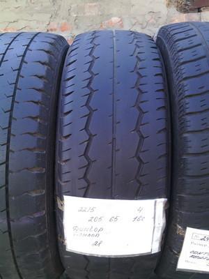 Бусовские шины б.у. / резина бу 205.65.r16с Dunlop SP LT30 - 8 Данлоп