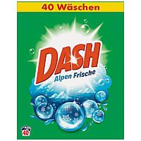 Dash Alpen Frische Стиральный порошок универсал 2.6 кг 40 стирок (Бельгия)