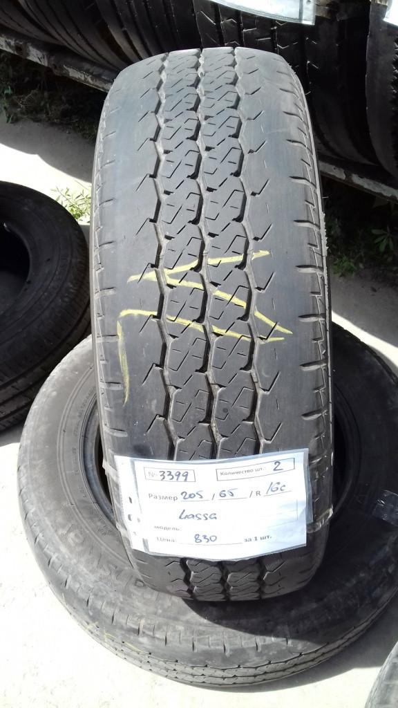 Бусовские шины б.у. / резина бу 205.65.r16с Lassa Transway Ласса