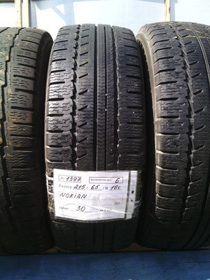 Бусовские шини б.у. , гума бо 215.65.г16с Nokian WRG Van Нокіан