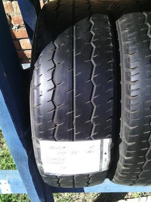 Шины б.у. 215.65.r16с Dunlop SP LT30 - 8 Данлоп. Резина бу для микроавтобусов. Автошина усиленная. Цешка