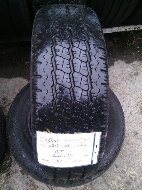 Бусовские шины б.у. / резина бу 215.65.r16с MaxMiller GX Макс Миллер