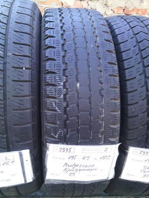 Шины б.у. 195.65.r16с Bridgestone Blizzak W800 Бриджстоун. Резина бу для микроавтобусов. Автошина усиленная. Цешка