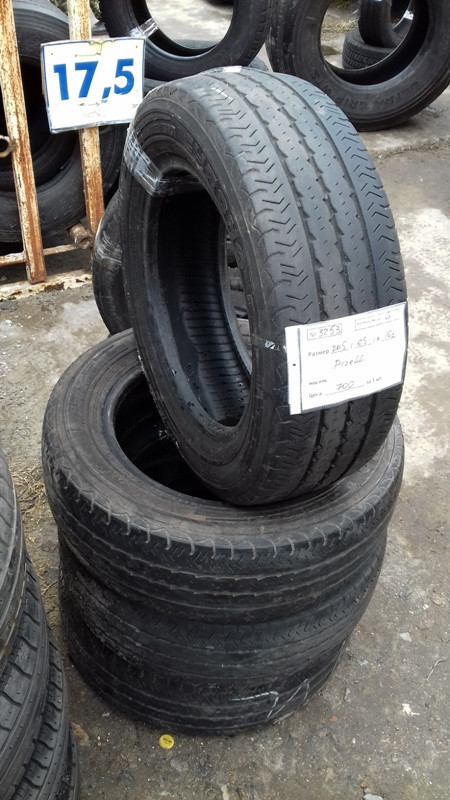 Шины б.у. 205.65.r16с Pirelli Chrono Пирелли. Резина бу для микроавтобусов. Автошина усиленная. Цешка