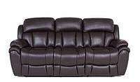 Мягкий кожаный диван с реклайнером Boston, 5009