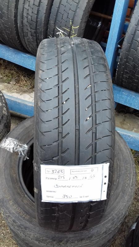 Бусовские шины б.у. / резина бу 215.65.r16с Continental Eco Континенталь