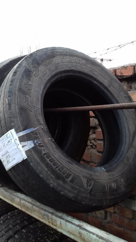 Шины б.у. 215.75.r17.5 Matador FR3 Матадор. Резина бу для грузовиков и автобусов