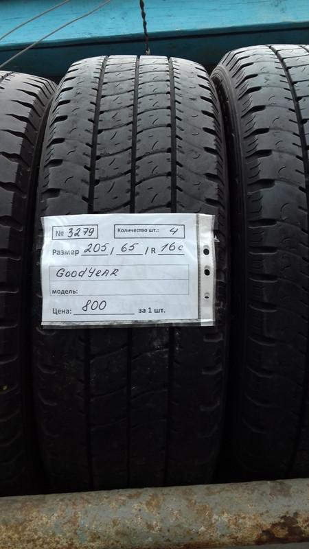 Бусовские шины б.у. / резина бу 205.65.r16с Goodyear Cargo Marathon Гудиер