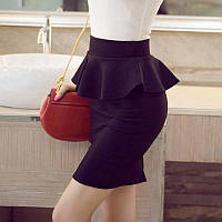 Женская юбка с баской
