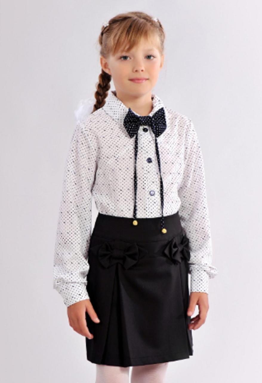 e5f2a2d780a Красивая школьная блузка для девочки  продажа