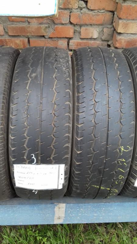 Шины б.у. 215.65.r16с Dunlop SP LT30 6 Данлоп. Резина бу для микроавтобусов. Автошина усиленная. Цешка