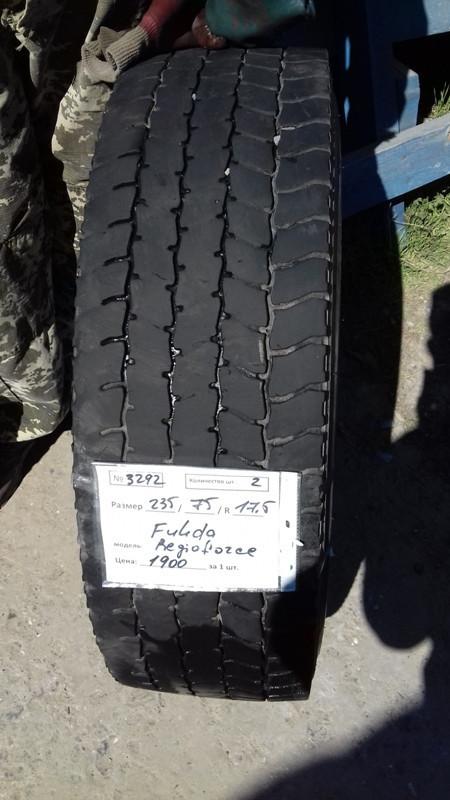 Шины б.у. 235.75.r17.5 Fulda Regioforce Фулда . Резина бу для грузовиков и автобусов