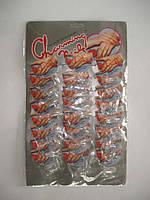 Накладные ногти Charming прозрачные, квадратные