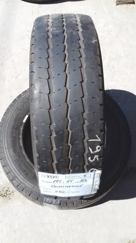 Бусовские шины б.у. / резина бу 195.65.r16с Continental Vanco Континенталь
