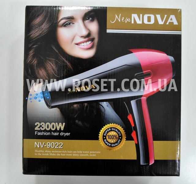 Фен профессиональный  для волос - Fashion Hair Dryer New Nova NV-9022 2300W