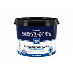 Акриловая финишная шпаклевка Sniezka Acryl-Putz