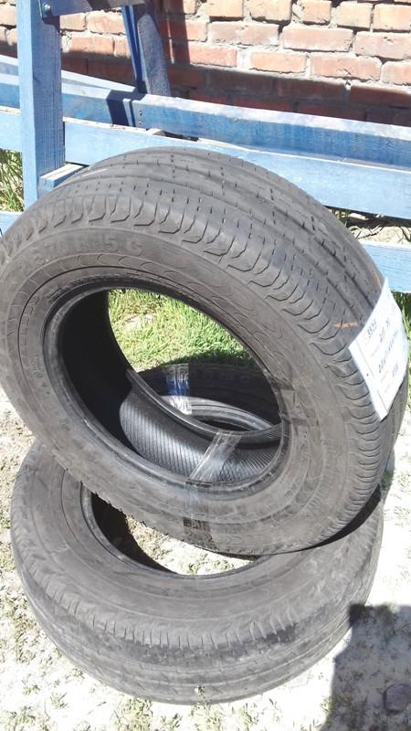 Бусовские шины б.у. / резина бу 215.70.r15с Continental Vanco Континенталь