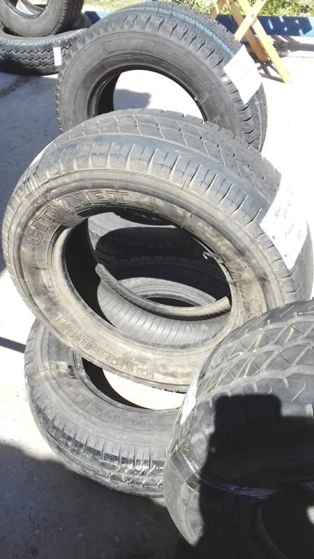 Шины б.у. 215.70.r15с Pirelli Sitynet Пирелли. Резина бу для микроавтобусов. Автошина усиленная. Цешка
