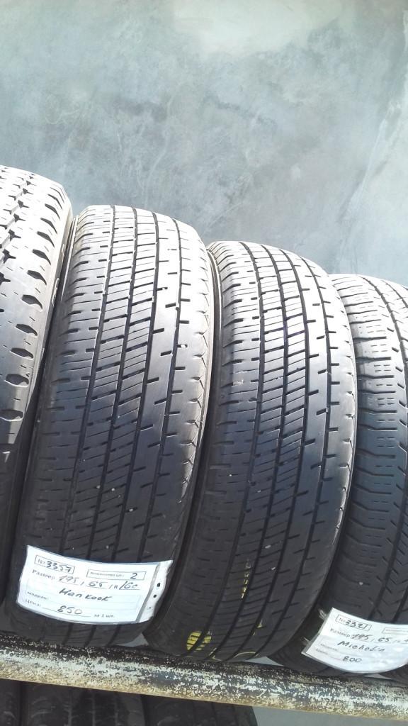 Бусовские шины б.у. / резина бу 195.65.r16с Hankook Radial RA14 Хэнкок
