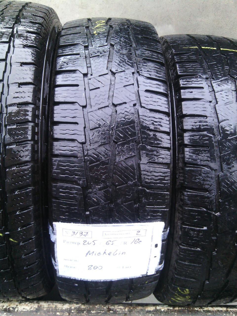 Шины б.у. 205.65.r16с Michelin Agilis 51 Мишлен. Резина бу для микроавтобусов. Автошина усиленная. Цешка