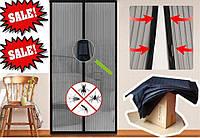 Magic Mesh - Антимоскитная сетка на дверь на магнитах