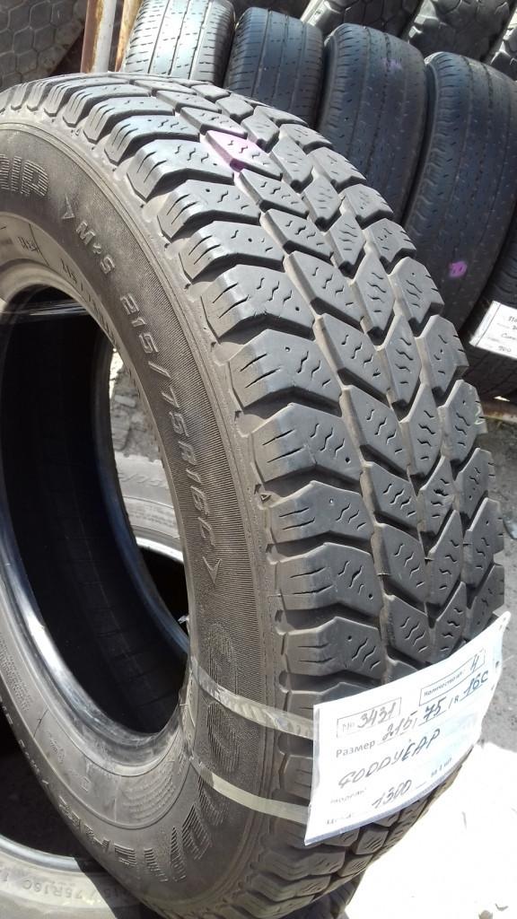 Бусовские шины б.у. / резина бу 215.75.r16с Goodyear Cargo Ultragrip Гудиер