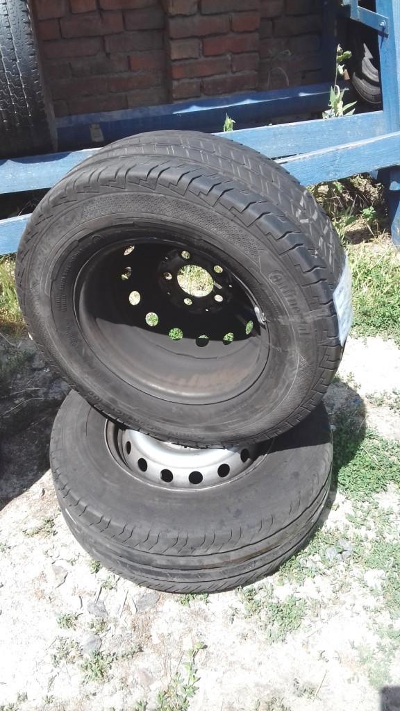 Бусовские шины б.у. / резина бу 225.70.r15с Continental ContiVancontact 100 Континенталь