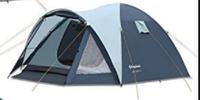Туристическая/кемпинговая палатка трехместная King Camp Holiday 3 , двухслойная 3-местная