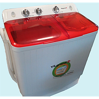 Стиральная машина полуавтомат VILGRAND V550-300TC RED (5.5 кг, 300 Вт, 1250 об/мин)
