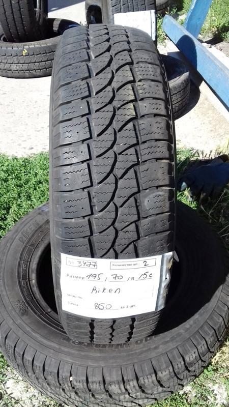 Бусовские шины б.у. / резина бу 195.70.r15с Riken CargoWinter Рикен