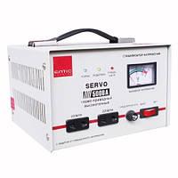 Стабилизатор напряжения 1000ВА 0,7кВт SERVO однофазный электромеханический Eltis