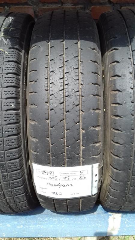 Бусовские шины б.у. / резина бу 205.75.r16с Goodyear Cargo Гудиер