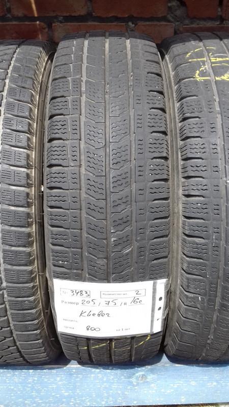 Бусовские шины б.у. / резина бу 205.75.r16с Kleber Transald Клебер