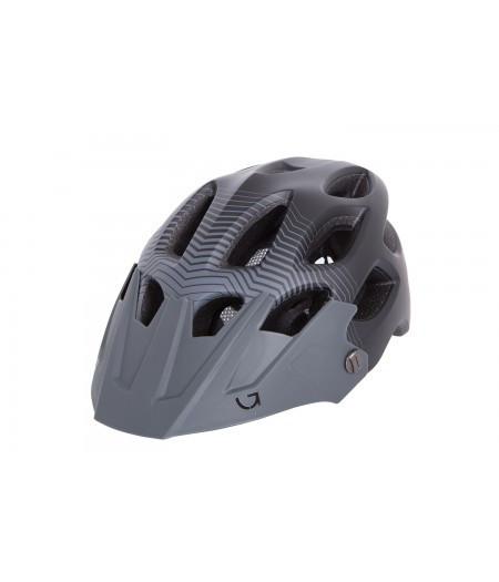 Шлем Green Cycle Slash размер L черно-серый матовый